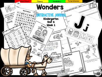 Wonders Kindergarten Interactive Journal Unit 8-Week 1
