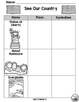 Wonders Kindergarten Interactive Journal Unit 8-Week 2