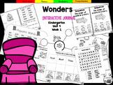 Wonders Kindergarten Interactive Journal Unit 9-Week 1