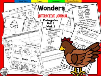 Wonders Kindergarten Interactive Journal Unit 9-Week 2