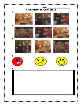 Wonders Kindergarten Interactive Read Aloud Comprehension Check