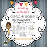 Wonders Kindergarten Reading unit 3 Week 1