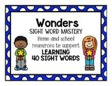 Wonders Kindergarten Sight Word Mastery