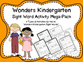 Wonders Kindergarten Sight Word Mega Pack