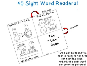 Wonders Kindergarten Sight Word Readers and Pocket Chart Activities