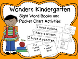 Wonders Kindergarten Sight Word Readers and Pocket Chart A