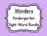 Wonders Kindergarten Sight Words Bundle