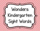 Wonders Kindergarten Sight Words Flash Cards