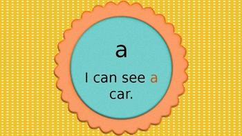 Wonders Kindergarten Sight Words - PowerPoint
