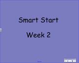 Wonders Kindergarten Start Smart Week 2