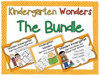 Wonders Kindergarten:  The Bundle!