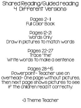 Wonders Kindergarten Unit 1 Week 1 The Book