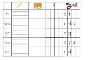 Wonders Kindergarten Unit 3 and 4 Sight Word Review