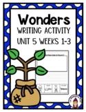 Wonders Kindergarten Unit 5 Wonders of Nature