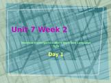 Wonders Kindergarten Unit 7 Week 2