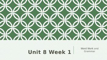 Wonders Kindergarten Unit 8 Week 1