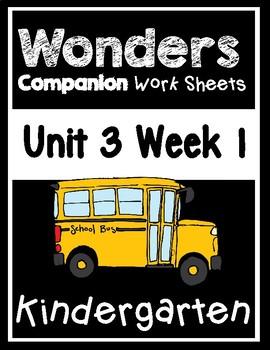 Wonders Kindergarten Worksheets Unit 3 Week 1 How do Dinosaurs go to School?