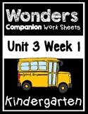 Wonders Kindergarten Worksheets Unit 3 Week 1 How do Dinos