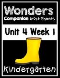 Wonders Kindergarten Worksheets Unit 4 Week 1 Whose Shoes?