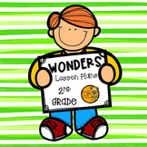 Wonders Lesson Plans - 2nd Grade - Unit 6