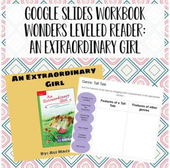 Wonders Leveled Reader Activity for Google Slides - Unit 4, Week 1
