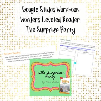 Wonders Leveled Reader Activity for Google Slides - Unit 4, Week 2
