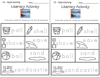 Wonders Leveled Reader Literacy Activities Unit 1