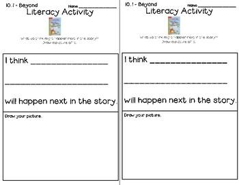Wonders Leveled Reader Literacy Activities Unit 10