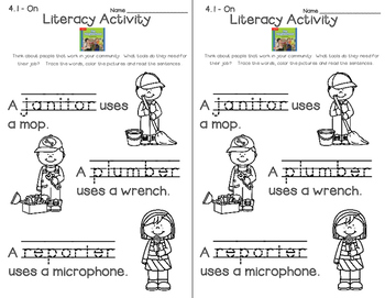 Wonders Leveled Reader Literacy Activities Unit 4