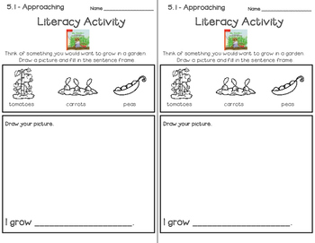 Wonders Leveled Reader Literacy Activities Unit 5