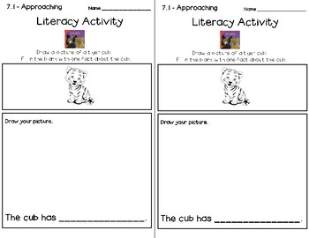 Wonders Leveled Reader Literacy Activities Unit 7