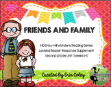 Wonders Leveled Reader Response Unit 1: Friends and Family (2nd Grade)