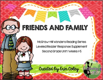 Wonders Leveled Reader Response Unit 1: Friends and Family
