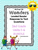 Wonders Leveled Reader Response to Text BUNDLE UNITS 1-6