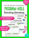 Wonders Leveled Reader Worksheets - GRADE 3, UNIT 3