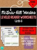 Wonders Leveled Reader Worksheets - GRADE 4, UNIT 6