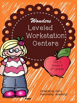 Wonders Leveled Workstation Rotation Centers~Unit 2 Week 5