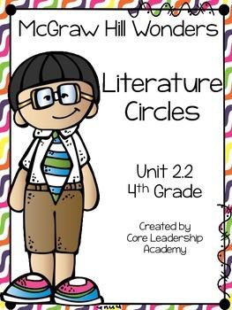 Wonders Literature Circles~ 4th Grade Unit 2~ Week 1-5