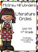 Wonders Literature Circles~ 4th Grade Unit 4~ Week 1-5