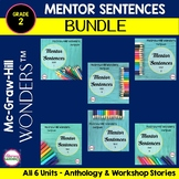 Wonders 2017 -  MENTOR SENTENCES {2nd Grade} BUNDLE
