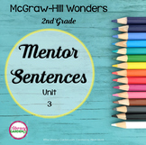 Wonders MENTOR SENTENCES {2nd Grade} Unit 3