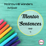 Wonders MENTOR SENTENCES {2nd Grade} Unit 4