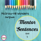 Wonders MENTOR SENTENCES {2nd Grade} Unit 5