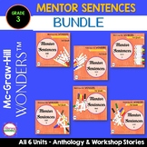 Wonders MENTOR SENTENCES {3rd Grade} BUNDLE