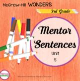 Wonders MENTOR SENTENCES {3rd Grade} Unit 5