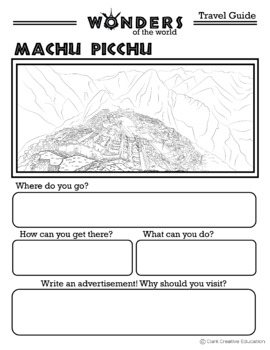 Wonders - Machu Picchu Resources - Differentiated Leveled Reading & Fun