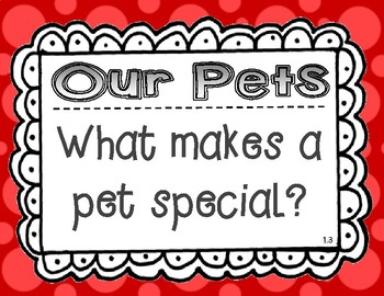 Wonders McGraw Hill 1st Grade Essential Question Posters - Unit 1