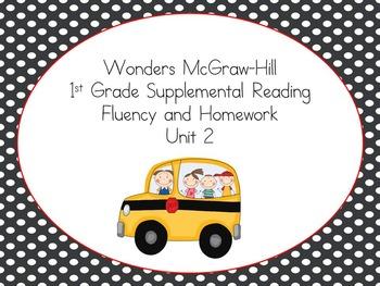 Wonders McGraw-Hill 1st Grade Supplemental Fluency Unit 2