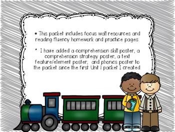 Wonders McGraw-Hill 1st Grade Supplemental Focus Wall Unit 3 Week 4