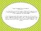 Wonders McGraw-Hill 1st Grade Unit 1 Supplemental Fluency